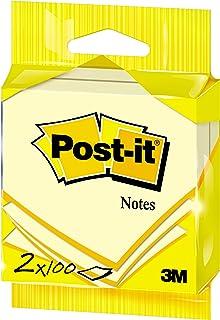 Post-it 76x76 mm Notes - Canary Jaune (Lot de 2)