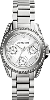 Michael Kors Blair Watch For Women - Analog Stainless Steel Band - Mk5612