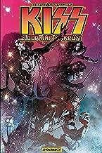 kiss blood comic