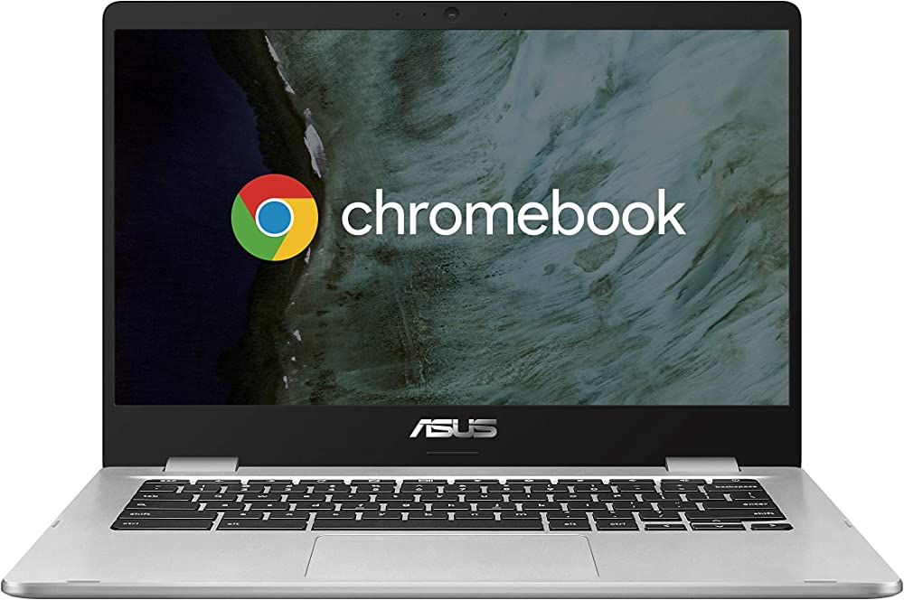Asus chromebook notebook in alluminio con monitor 14