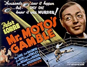 Odsan Gallery Mr. Motos Gamble, Peter Lorre, Keye Luke, 1938 - Premium Movie Poster Reprint 32