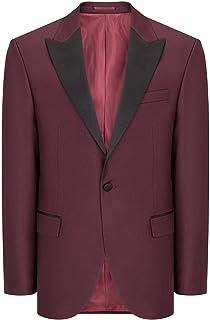 NotingBuss-Christmas Suits for Men Floral Blazer Luxury Stylish Slim Fit Vest Two Button Sport Coat