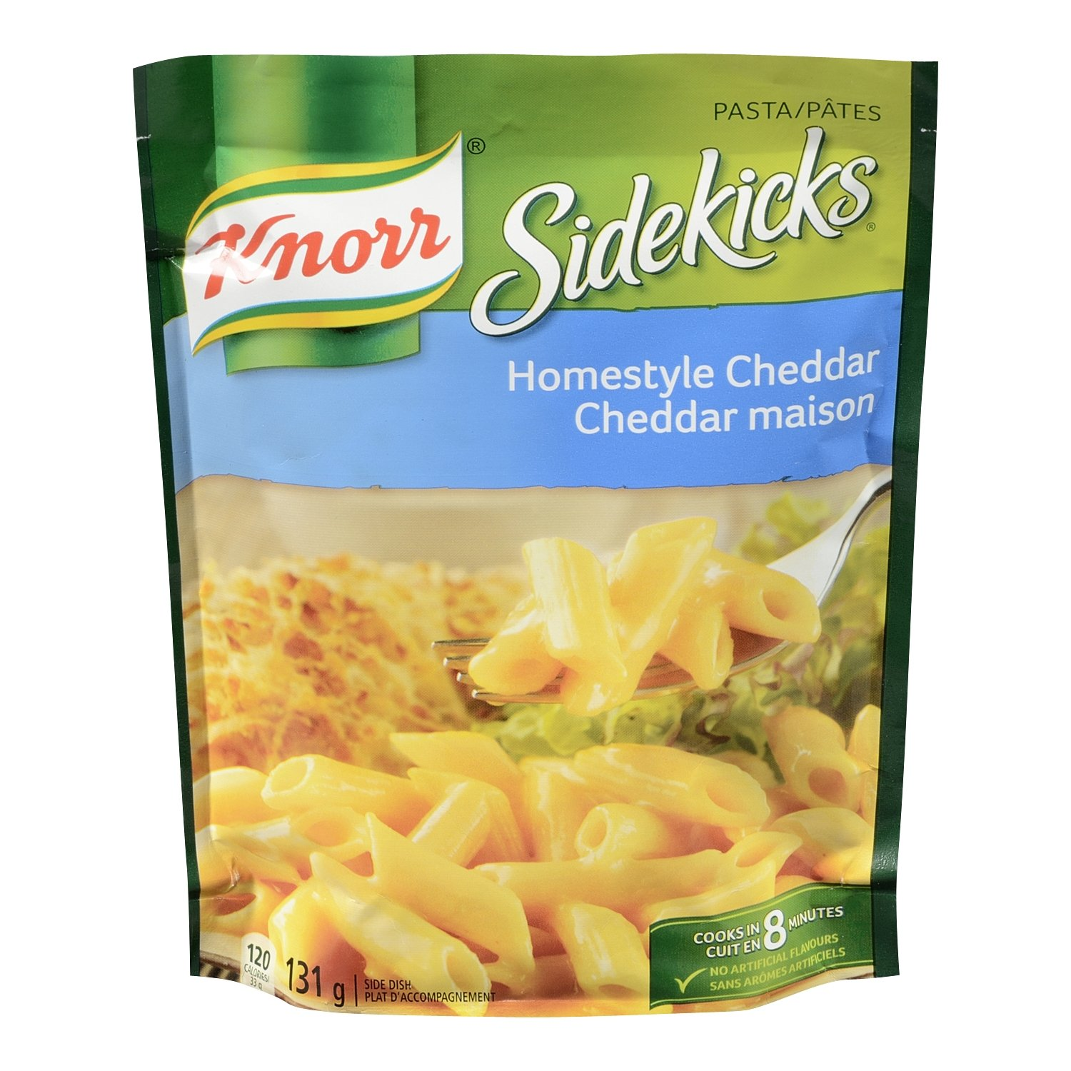 Knorr Pasta Homestyle Detroit Mall Cheddar Side Dishes 131g Complete Free Shipping 4.6 {Imp 8pk oz.