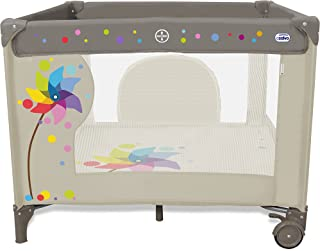 Pink Multi-Color Asalvo 13057 Whale Design Mattress for Travel Cot