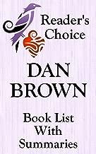 Best dan brown books in order of publication Reviews