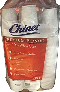 Chinet White Cups 420 Count - 10 oz