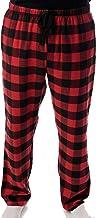 #followme Men's Flannel Pajamas - Plaid Pajama Pants for Men - Lounge & Sleep PJ Bottoms