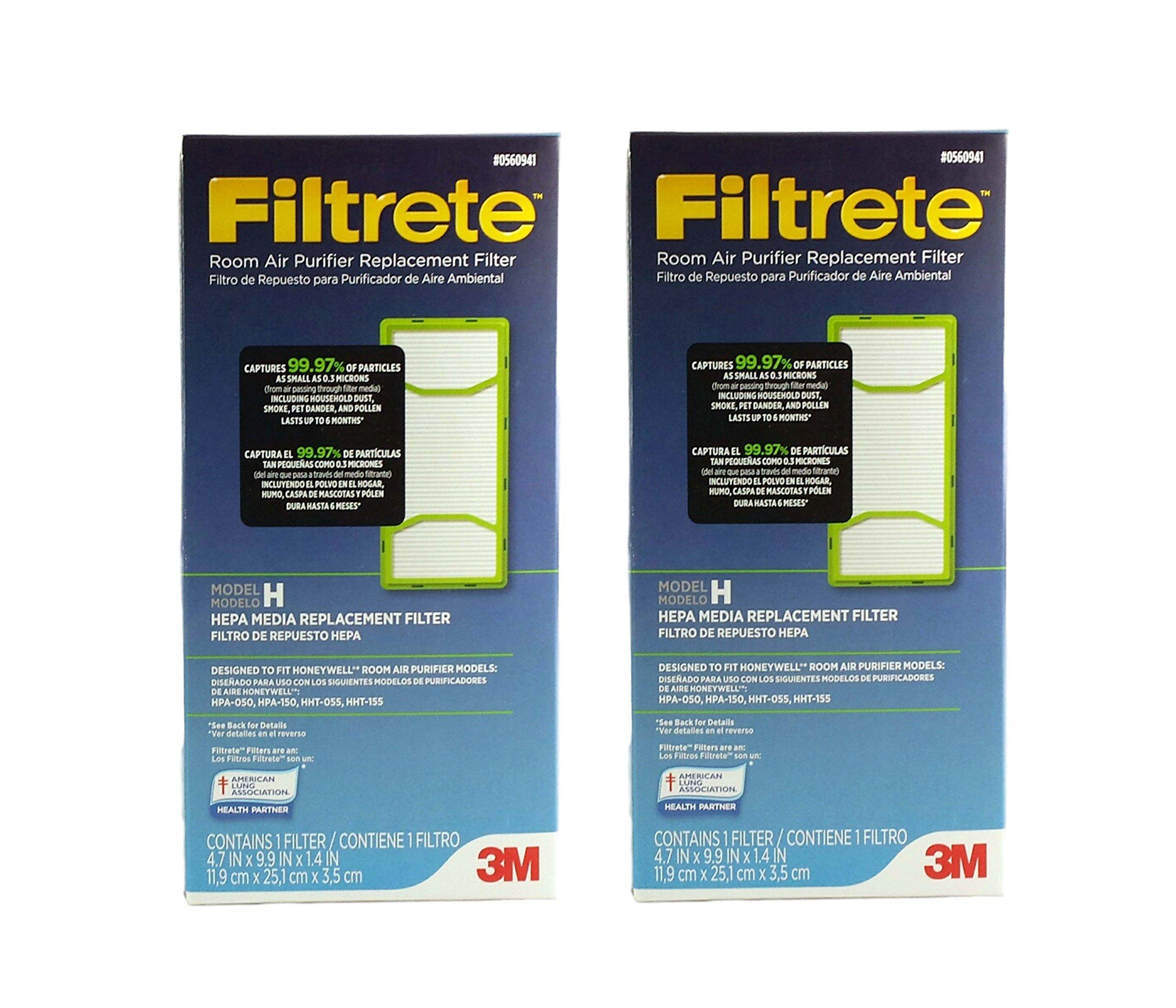 0560941 habitación Filtrete purificador de aire Filtro de repuesto ...