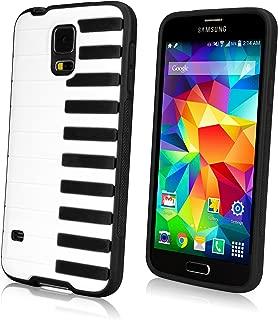 Galaxy S5 Case, BoxWave® [Sonata Case] Hybrid Hard Shell Case with Piano Keyboard Design for Samsung Galaxy S5