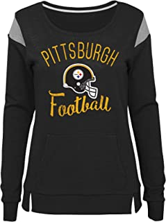Outerstuff NFL Womens Juniors Classic Crew French Terry Pullover