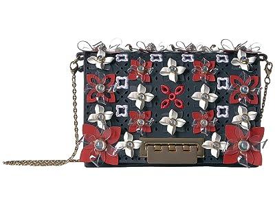 ZAC Zac Posen Earthette Accordion Mini Chain Crossbody (Parisian Nights) Handbags