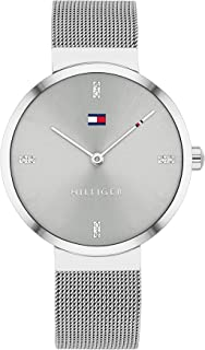 Tommy Hilfiger Women'S Grey Dial Stainless Steel Watch - 1782220
