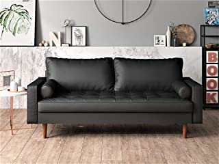 US Pride Furniture , Sofa, Black