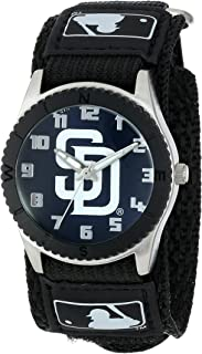 Game Time Youth MLB Rookie Black Watch - San Diego Padres
