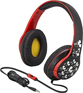 Mickey Mouse Over the Ear Headphones with Built in Microphon