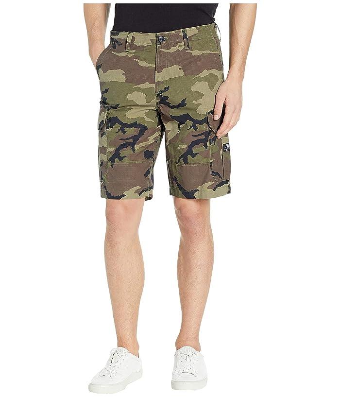 DC Ripstop Cargo 21 Shorts (Camo) Men