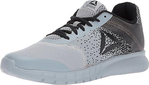 Reebok Men's Instalite Run zapatos, Meteor gris negro, 9.5 M US