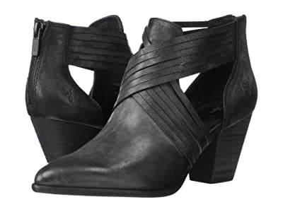 Frye Reed Horizon Bootie (Black Washed Oiled Vintage) Women