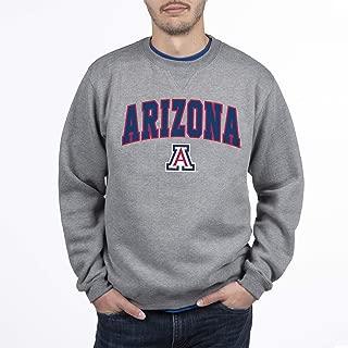 Elite Fan Shop NCAA Men's Crewneck Charcoal Gray Sweatshirt