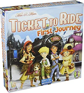 Days of Wonder Ticket To Ride First Journey Europe Board Game