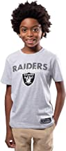 Ultra Game NFL Boys' Active Crew Neck Tee Shirt