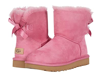 UGG Mini Bailey Bow II (Wild Berry) Women