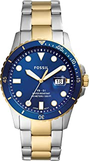 FOSSIL Men's Analogue Quartz Watch with Stainless Steel Strap FS5742