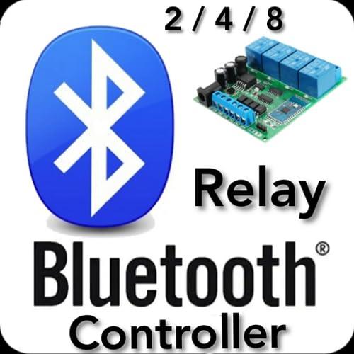 Relay Bluetooth Controller 2/4/8 - NO AD'S