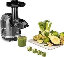 H.Koenig Extracteur de Jus de Fruits et Légumes Horizontal Sans BPA HSX16 compact 1.1L Centrifugeuse Vitamin+ Puissant 150...
