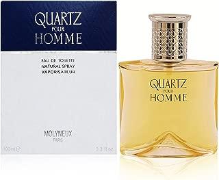 Quartz Pour Homme By Molyneux Eau-de-toilette Spray, 3.3 Ounce.