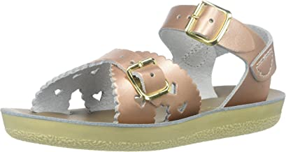 saltwater sandals sweetheart rose gold