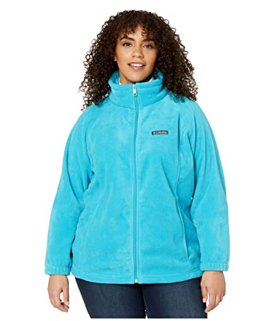 Columbia Plus Size Benton Springstm Full Zip (Clear Water) Women