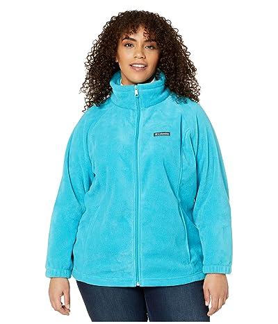 Columbia Plus Size Benton Springstm Full Zip (Clear Water) Women