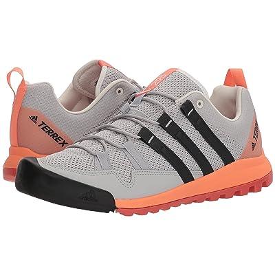 adidas Outdoor Terrex Solo (Grey Two/Carbon/Chalk Coral) Women
