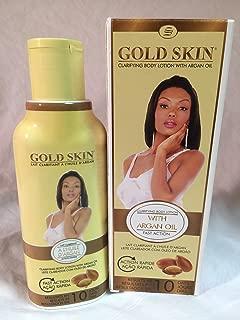 Gold Skin Clarifying Body Lotion With Argan Oil (Hydroquinone Free) 250 ml. 8.45 fl.oz.