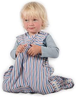 Merino Kids Organic Cotton Baby Sleep Bag for Babies 0-2 Years, Huckleberry