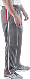 Vertical Sport Mesh Side Pockets Running Men's Track Pants