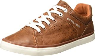 US Polo Association Men's OTTO Leather Sneakers