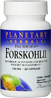 Planetary Herbals Forskohlii Full Spectrum 130 Mg, 60 Count