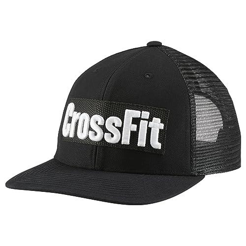 5f635c1b207 Reebok Crossfit Lifestyle Cap Black White Unisex Mesh Snapback