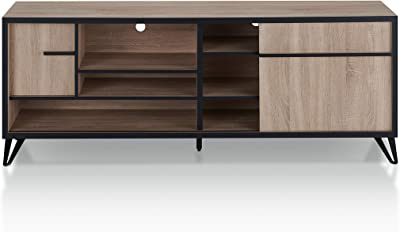 HOMES: Inside + Out TV Stand, Natural Oak