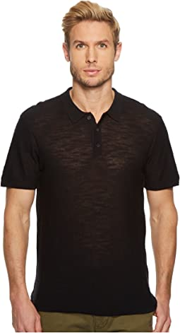 7 For All Mankind - Short Sleeve Sweater Polo
