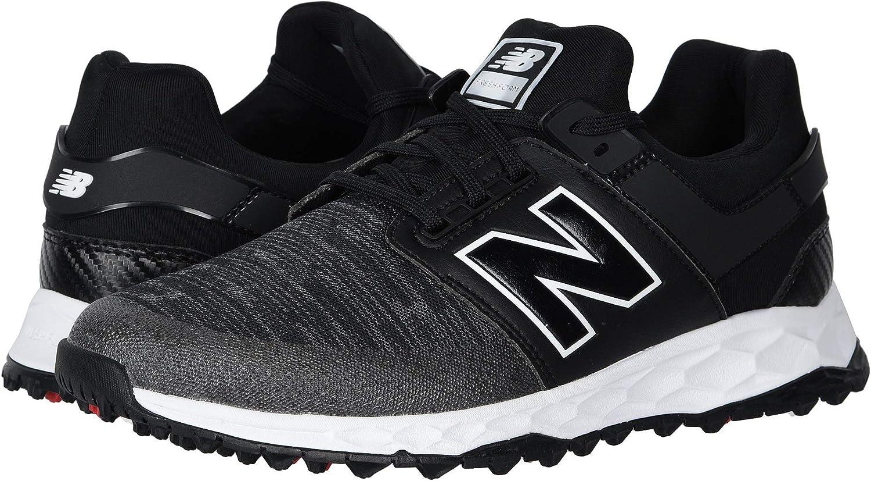 maletero máscara Actriz  Amazon.com | New Balance Men's Fresh Foam LinksSL Golf Shoes, Black | Golf