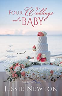 Four Weddings and a Baby (Five Island Cove Book 6)
