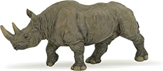 Papo Black Rhinoceros Toy Figure
