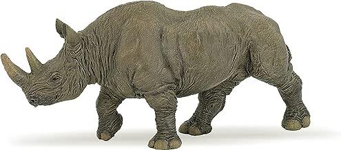 Papo 50066 Black rhinoceros WILD ANIMAL KINGDOM Figurine, Multicolour