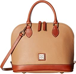 1f5984aa8886 Pebble Zip Zip Satchel. Like 63. Dooney   Bourke