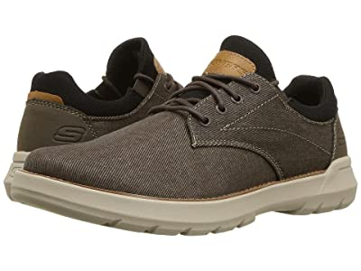 SKECHERS Relaxed Fit Doveno Reson (Chocolate) Men