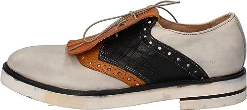 Elegante Schuhe Herren Leder Weiß