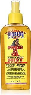 Ginseng Miracle Wonder 8 Oil Hair/Body Mist, 7.5 Ounce